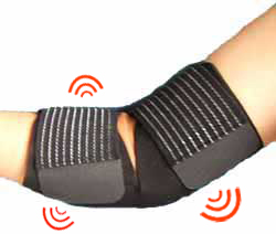 Armbågsskydd - Magnetterapi, svart