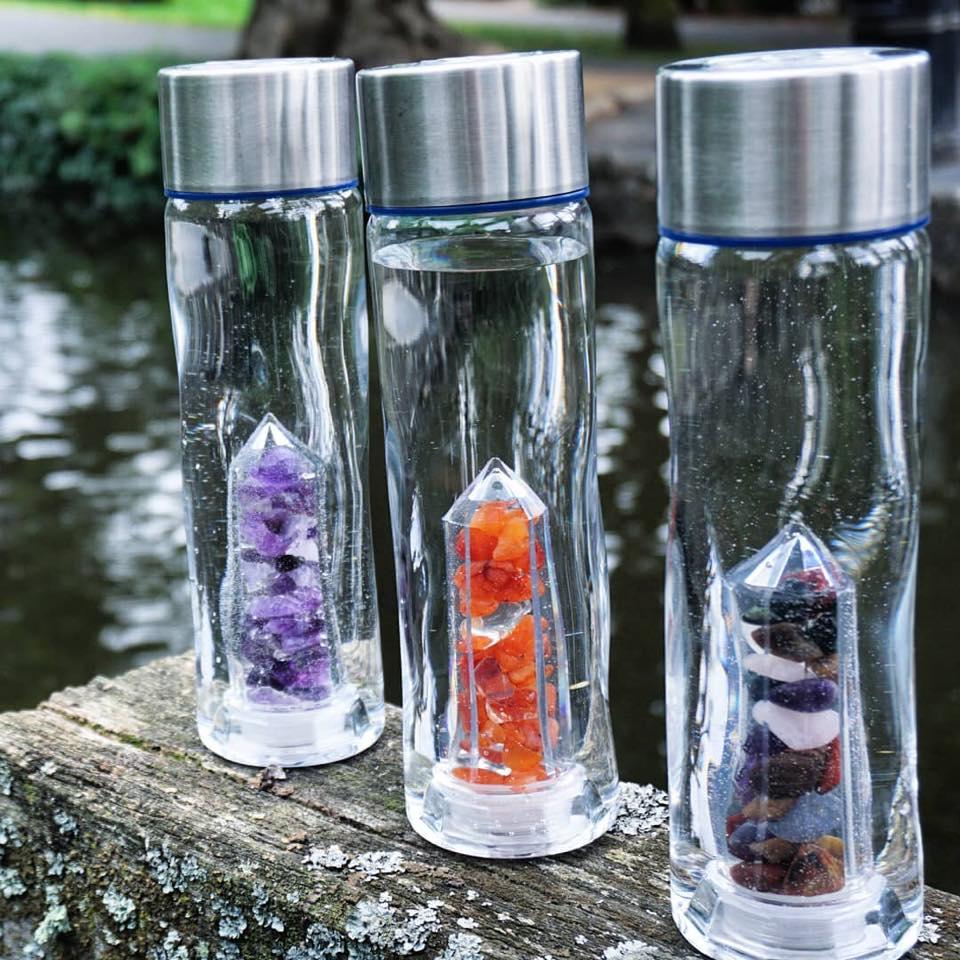 Crystal water bottles - Plastic