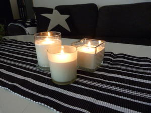 Scented Candles with essensial oil