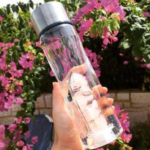 Kristallvattenflaska - Plast - Harmony