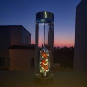 Kristallvattenflaska - Plast - Vitality