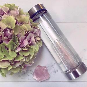 Crystal water bottle - Glass - Harmony