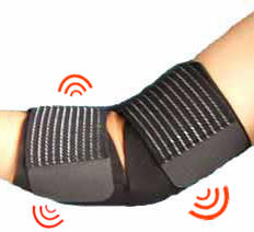 Elbow Support - Magnetic Therapy, black