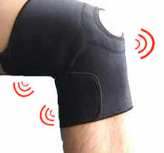 Knee Support - Magnetic Therapy, black