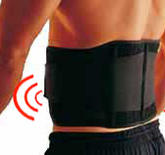 Waist Support - Magnetic Therapy, black